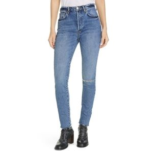 Free People Stella High Rise Skinny Jeans